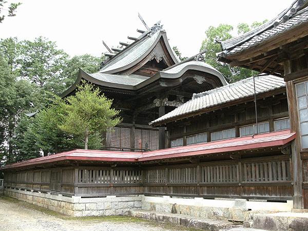 津山市観光 鶴山八幡宮(八子の八幡さま)