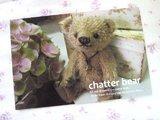 『chatter bear』のポストカード♪