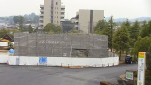 12月11日 弓道場建設現場 津山弓道連盟
