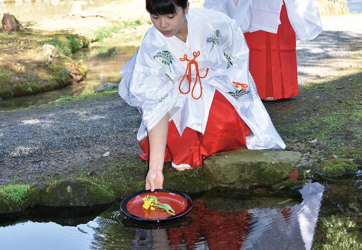 衆楽園 曲水の宴「俳句会」