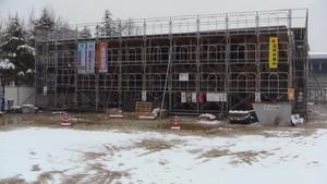 12月30日 弓道場建設現場 津山弓道連盟