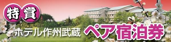 ホテル作州武蔵 ペア宿泊券