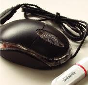 USBメモリー &マウス