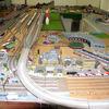 津山駅前のスポット(トレビック模型)