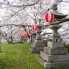 中須賀船着場石灯籠