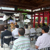 津山で一番早い夏祭り「八頭(やかみ)神社」