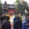 中山神社の秋祭り、だんじりの取材報告