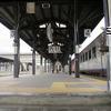 2012年7月11日の津山駅