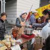 城西テント村「野菜と魚の市」2012.12.16