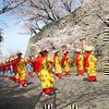 津山城(鶴山公園)津山さくらまつりオープニングセレモニー