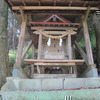 若宮神社と別所城(上高倉字城山)
