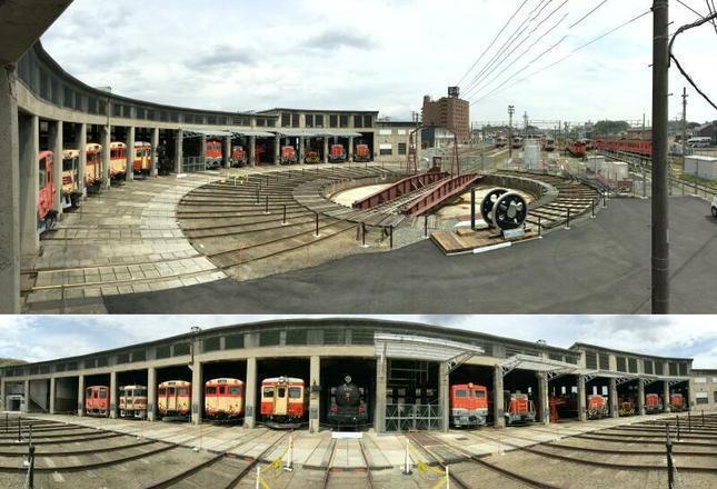 津山まなびの鉄道館の写真