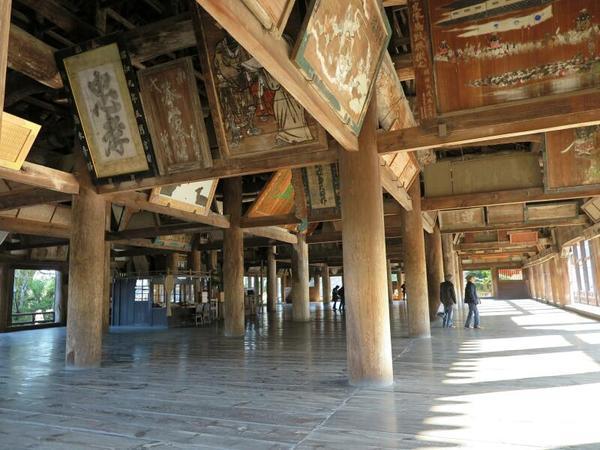 宮島の豊国神社(国重要文化財)