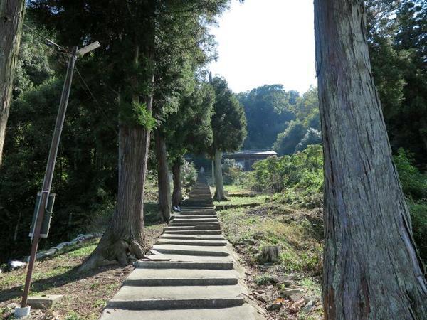 青木神社(大谷)