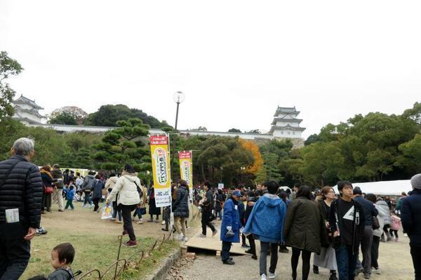県立明石公園と明石城