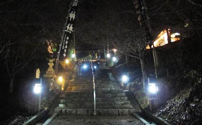 田神社の初詣風景