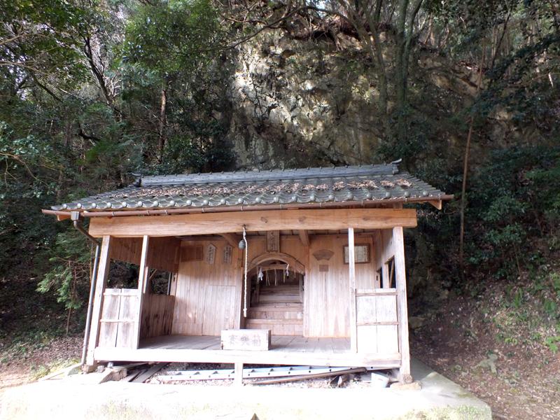津山瓦版福井 新宮城に関わる伝承の真宮神社