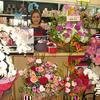 2010年5月のイナバ化粧品店は花束で一杯!