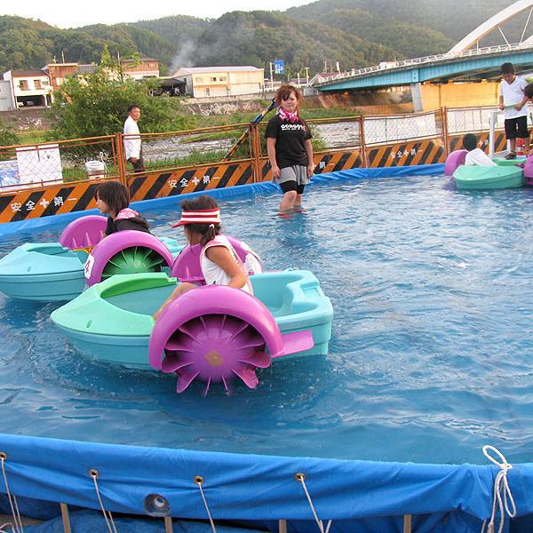 2010ごんご祭りin吉井川【遊び】