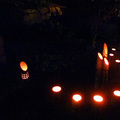 大晦日、城東地区で竹灯籠300個のイベント