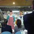 映画「ホルモン女」撮影風景【津山市役所編】