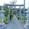 西賀茂神社(津山市杉宮字上の山)