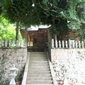 八筈城址上り口にある千磐(ちいわ)神社