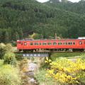 2011年11月スローライフ列車【美作加茂駅】