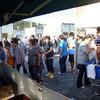 東日本大震災被災者への支援物資(略礼服、ミシン)のお願い。
