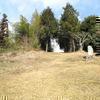 田熊 八幡宮神事場と南参道口の石碑群