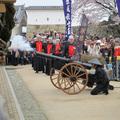 「津山城鉄砲隊」が誕生しました。