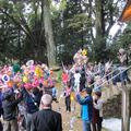 物見神社の花祭り(岡山県指定重要無形民俗文化財)