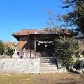 十寸鏡(ますかがみ)神社(津山市楢)