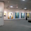 植月正紀とその仲間たち展と同時開催でOKA展がありました。