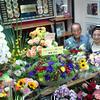 2013年8月のイナバ化粧品店はお花が一杯!