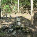 お夏の墓(津山市阿波)