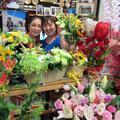 2014年8月のイナパパ誕生日の花束