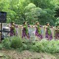 バンブーミュージックフェスタが古民家「倭文の郷」でありました。