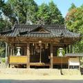 倭文(しとり)神社(油木北)旧久米町
