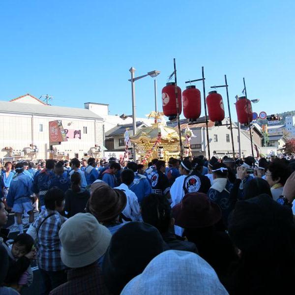 2015年 徳守神社の秋祭り