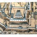 在りし日の津山城の天守閣