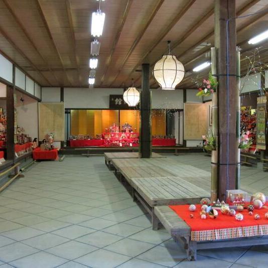 津山城(鶴山公園)のひな祭り