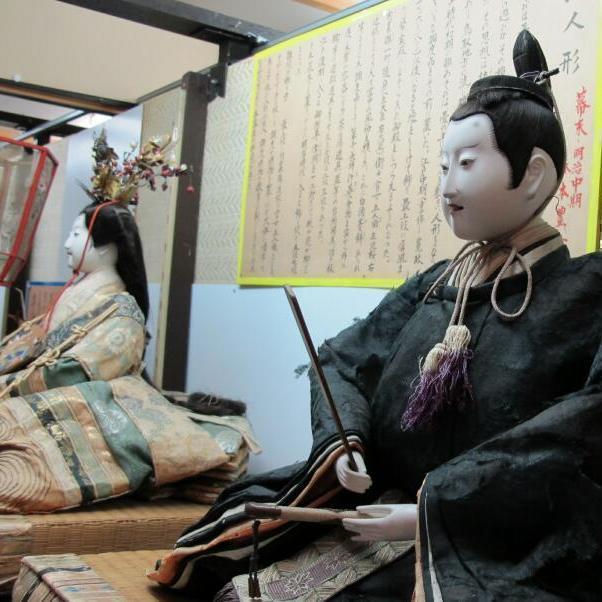 森本家の雛(幕末~明治初期)森本豊女(京より人形師を招き製作)