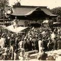 戦前の徳守大祭の甲冑行列を映した貴重な写真