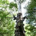 噫忠義桜十字詞之碑塔(作楽神社)