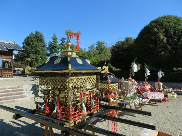 勝部神社(勝部)の秋祭り2018