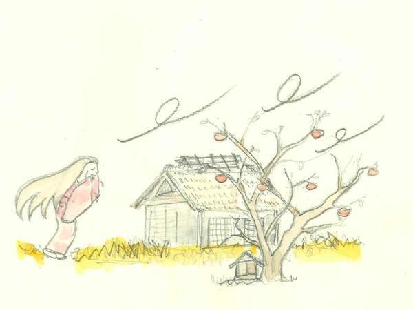 リオン(利音)柿の話 リオンさんの柿はなぜ渋い『山西の民話』