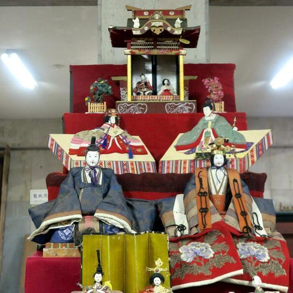津山弥生の里文化財センターのお雛さま