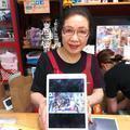 7月のイナバ化粧品店と登城記念・御朱印