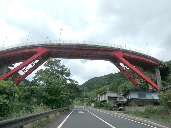 ループ橋、ひらめの家跡、ドライブイン「チコ」跡(奈義町)